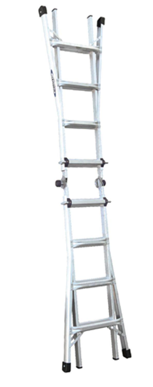 Werner Aluminium Multi Purpose Telescopic Combination Ladder