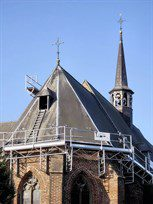 church roof access
