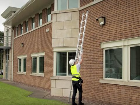 Sterk Systems ZARGES Z600 Extension Ladder