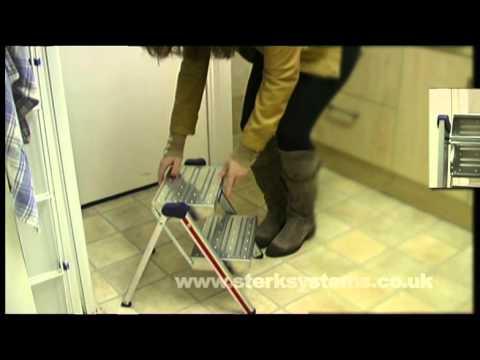 Kitchen folding step | Hymer quality kitchen steps