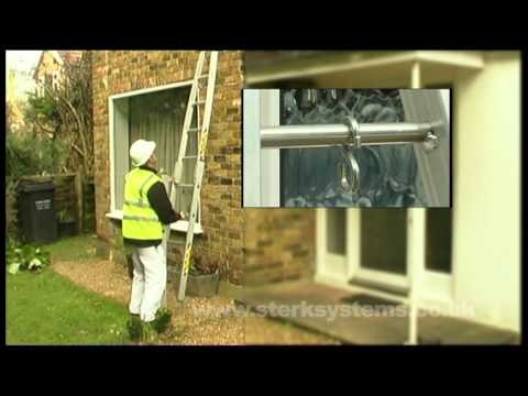 3 Section Window Cleaners Ladder | Centaure Window Cleaners Ladder