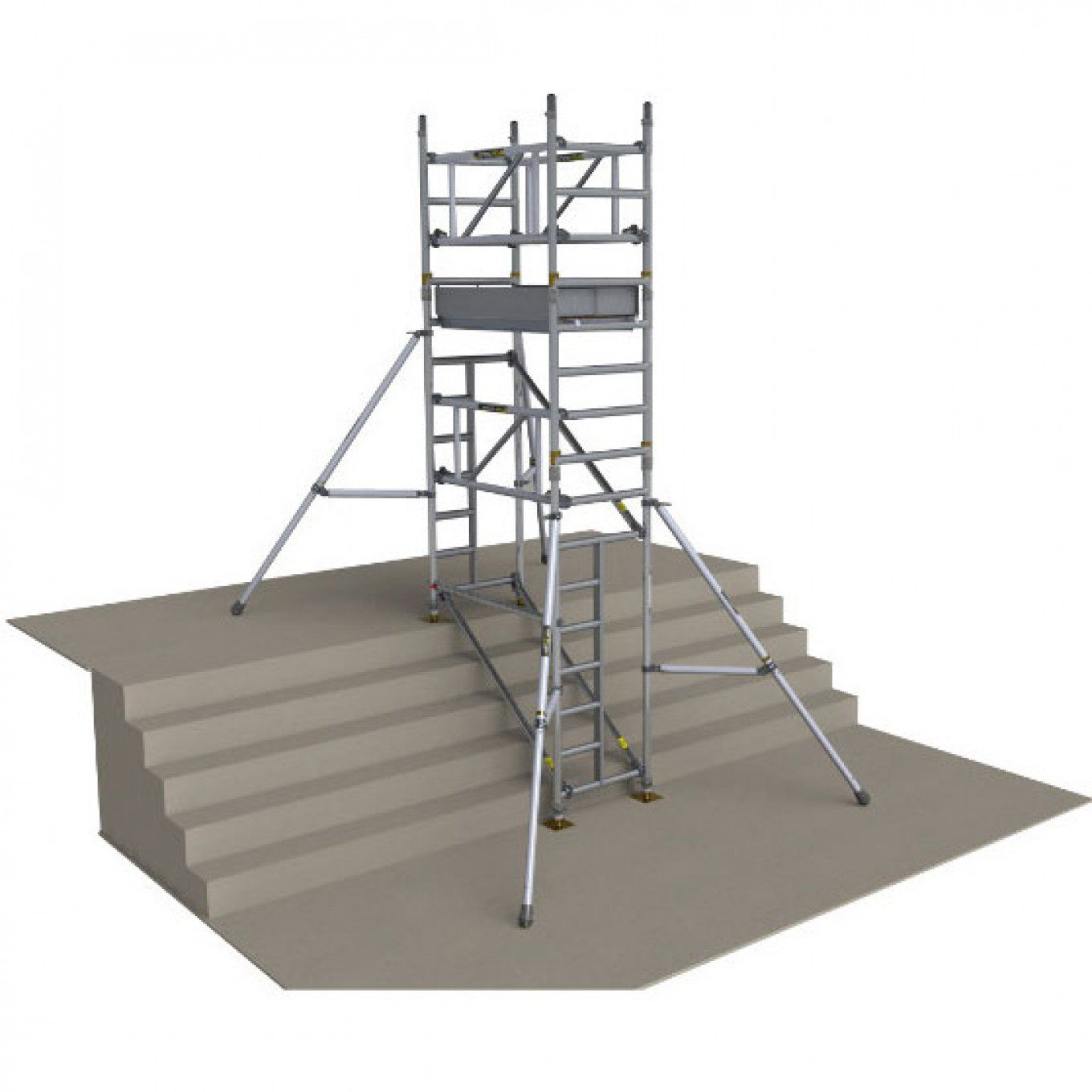 Boss Tower Staircase : Boss stairmax guardrail access tower