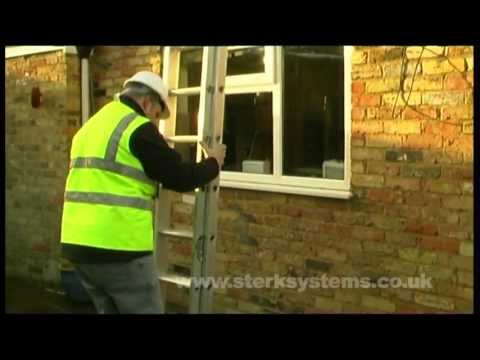 Double Ladder Demo: Titan Classic Trade Ladder | 2 section Light weight Ladder