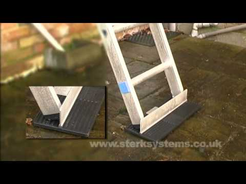 How to safely use the Zarges Ladder stopper
