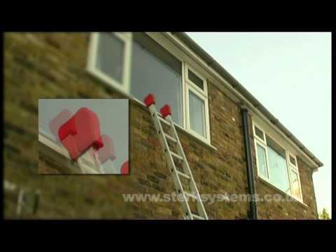 Ladder Socks | Ladder Pads | Zarges Ladder sock demo