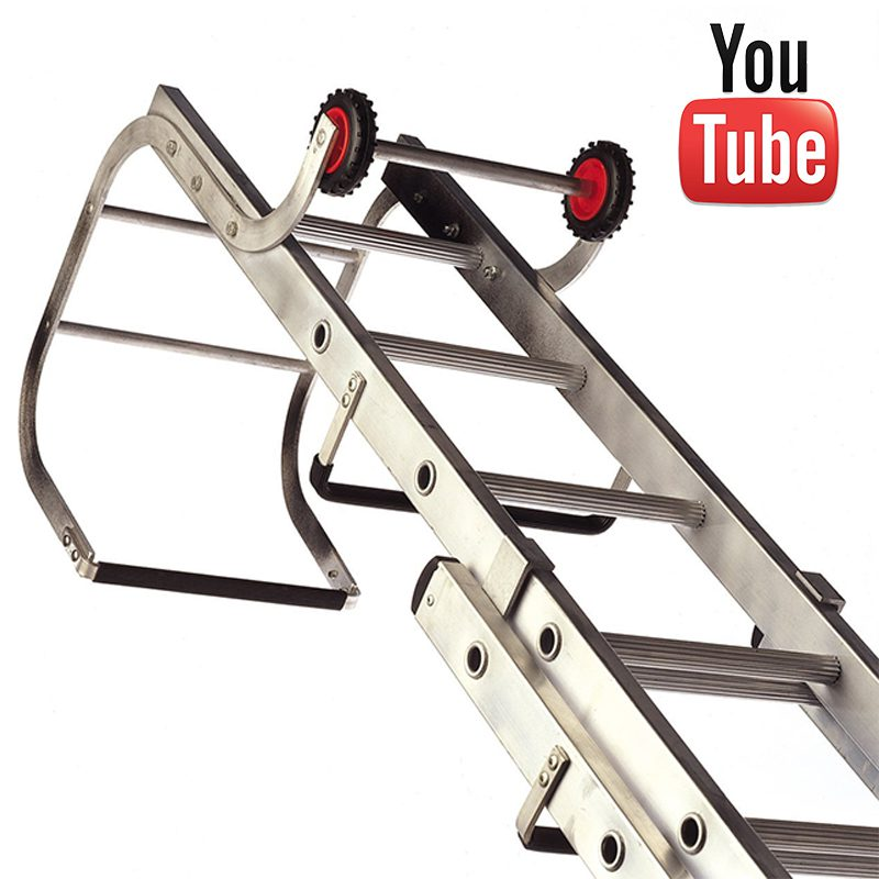 Lyte Two Section Trade Roof Ladder