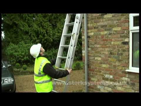 Trade Ladder - 3 Section Ladder - safe use we show you how