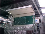 Weather protection system (Artilan) Scaffold tower 2