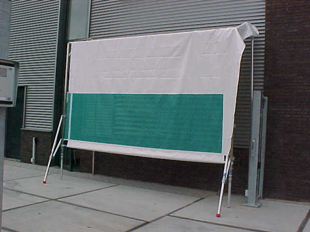 Weather protection system Freestanding 2