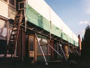Weather protection system for Mobile Scaffold towers 2