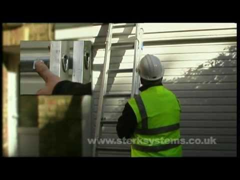 Zarges Industrial Extension Ladder | Two Section Ladder | Double Ladder