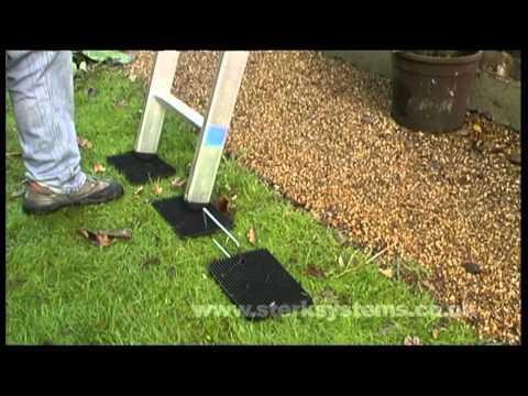 Zarges Ladder Mat | Non slip base for ladders