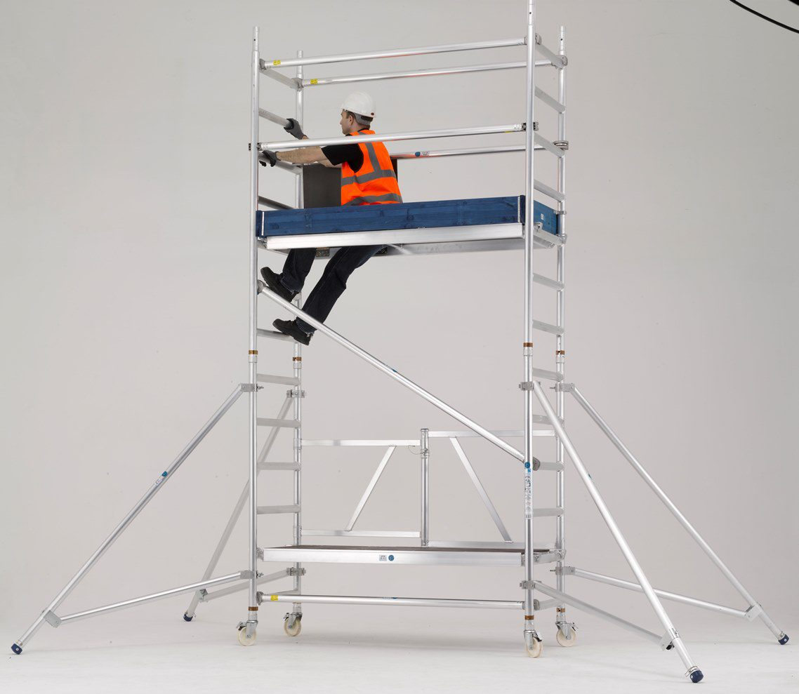 Introducing The New Zarges Reachmaster Mobile Scaffold Tower