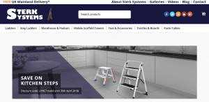 New Web Site Sterk Systems Ltd